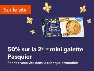 2eme Mini Galette Pasquier -50%