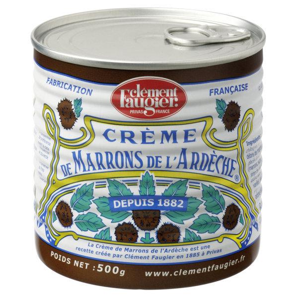 Photo Crème de marrons vanillée Clement Faugier