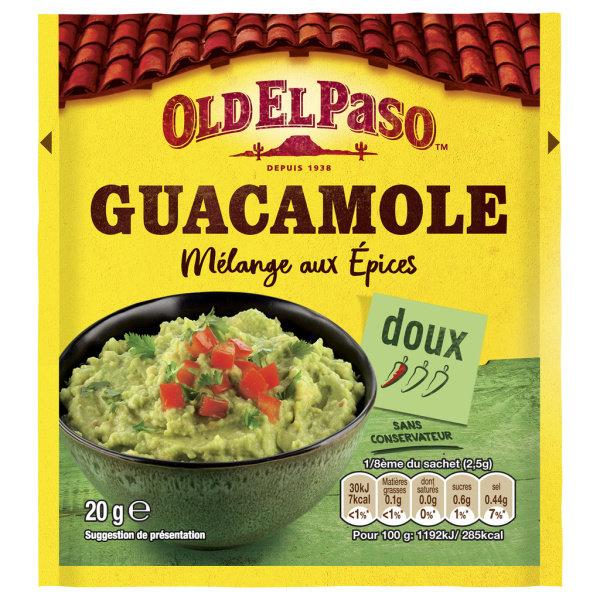 Photo Epices pour guacamole Old el Paso