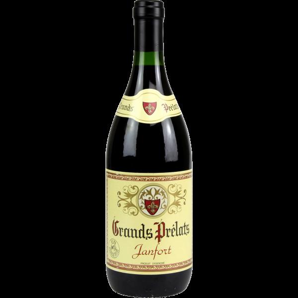 Photo Vin d'espagne rouge GRANDS PRELATS
