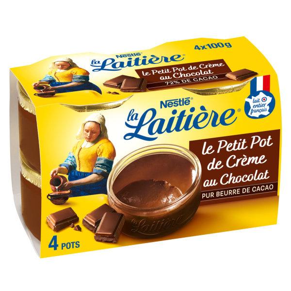 Photo Pot de crème chocolat La  Laitière