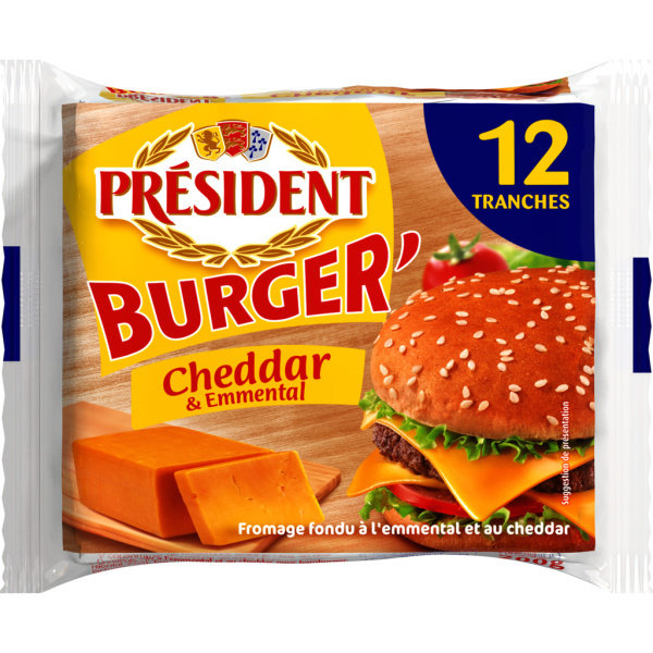 Photo Fromage pour burger PRESIDENT
