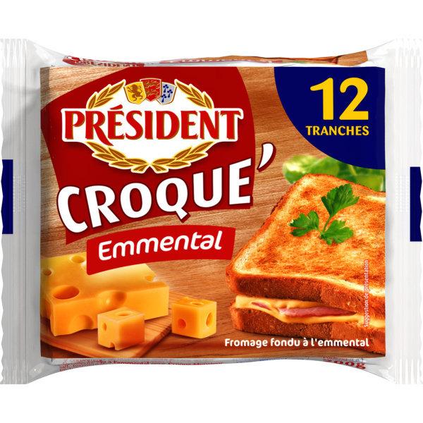 Photo Fromage pour croque-monsieur PRESIDENT