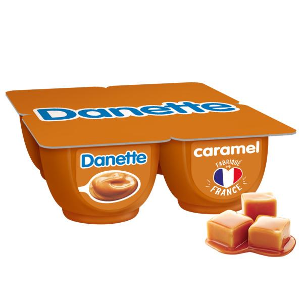 Photo Crème dessert caramel Danette