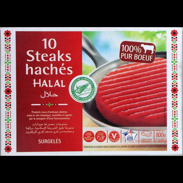 Photo Steak haché halal Default