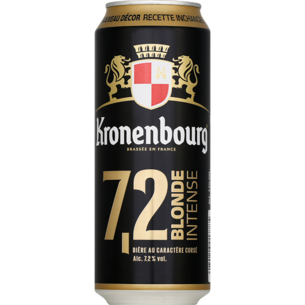 Photo Bière blonde intense Kronenbourg