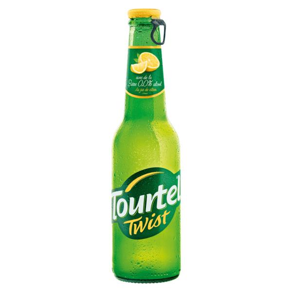 Photo Bière sans alcool citron Tourtel Twist