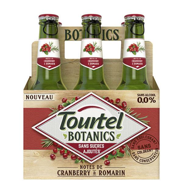 Photo Boisson sans alcool cranberry Tourtel Botanics