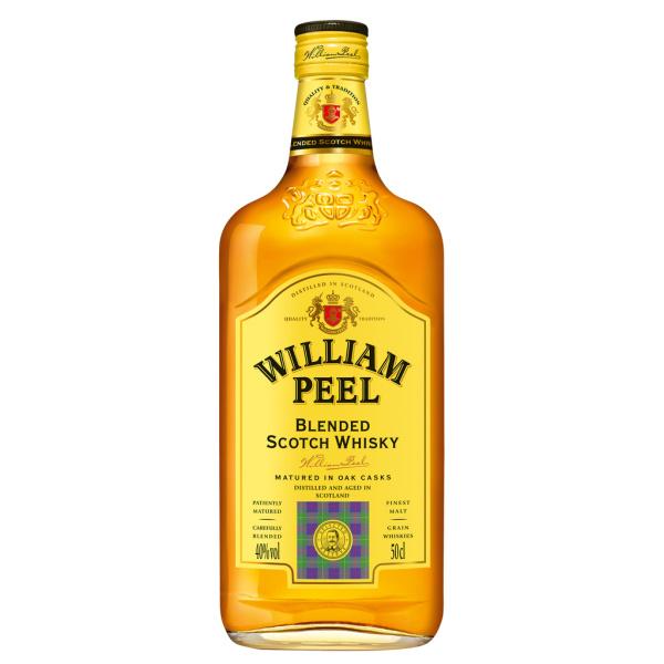 Photo Blend scotch whisky William Peel