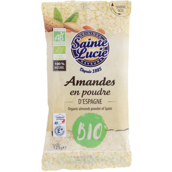Photo Amandes en poudre bio Sainte Lucie