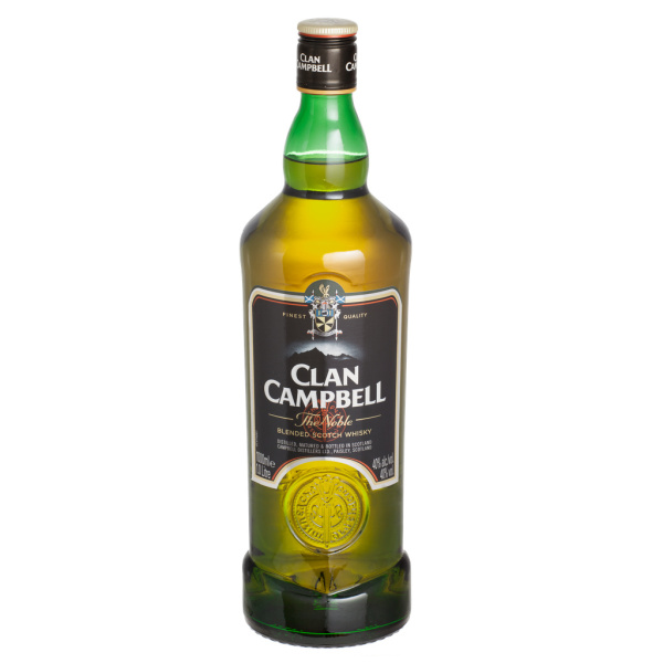 Photo Scotch whisky Clan Campbell