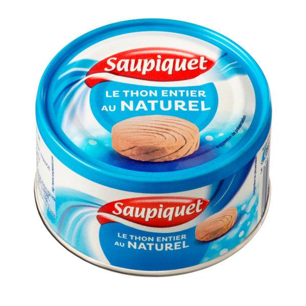 Photo Thon entier au naturel Saupiquet