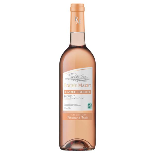 Photo Vin rosé roche mazet cinsault Roche mazet