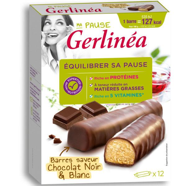 Photo Barre hyperprotéinée au chocolat Gerlinéa