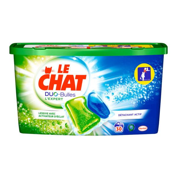 Photo Lessive en dose Le Chat