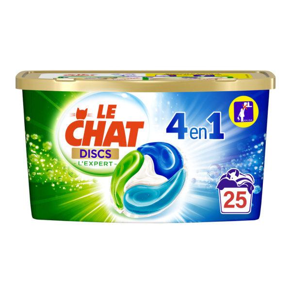 Photo Lessive efficacité 4en1 en doses Le Chat