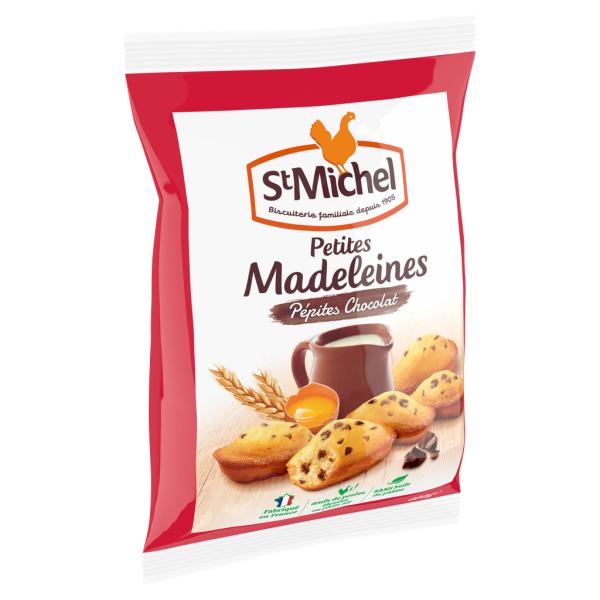 Photo Madeleines pépites chocolat St Michel