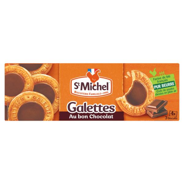 Photo Galettes gourmandes au chocolat St Michel