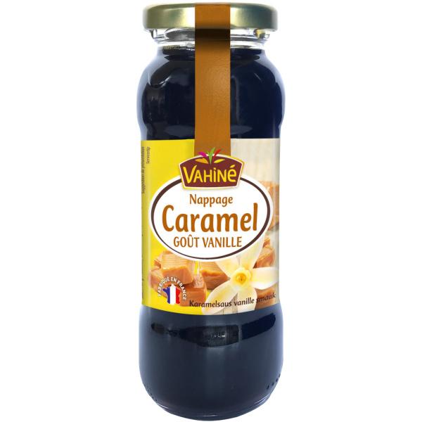 Photo Nappage caramel goût vanille Vahiné