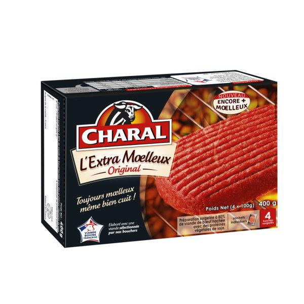 Photo Steaks hachés moelleux original Charal