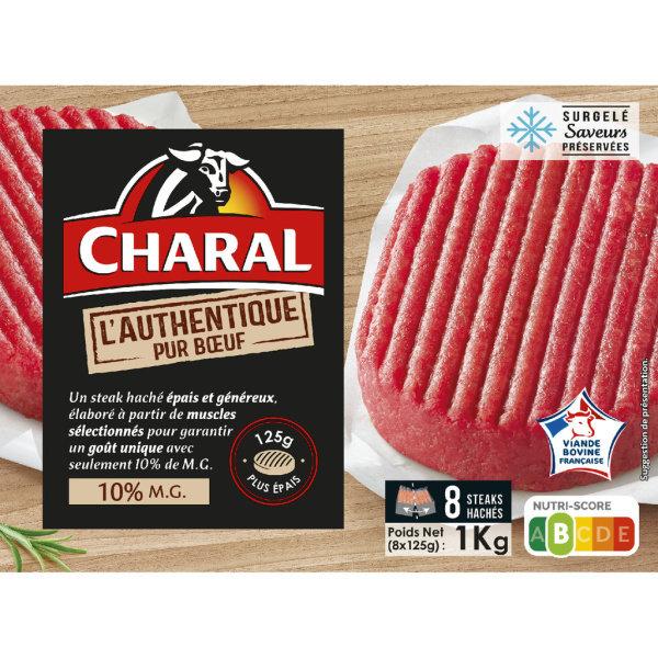 Photo Steak haché 10% mg Charal