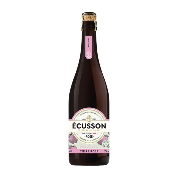 Photo Cidre rosé naturel Ecusson