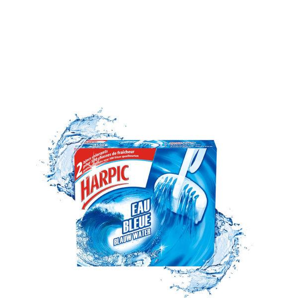 Photo Bloc wc eau bleue Harpic