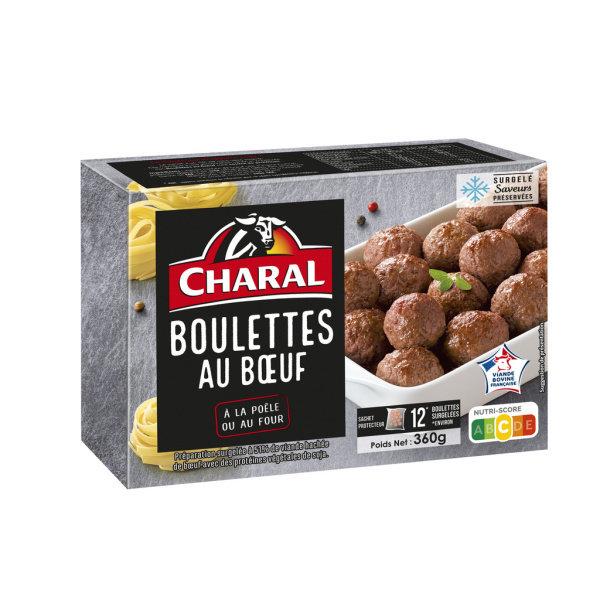 Photo Boulettes au boeuf Charal