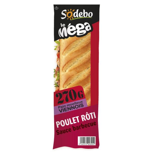 Photo Sandwich poulet rôti Sodebo