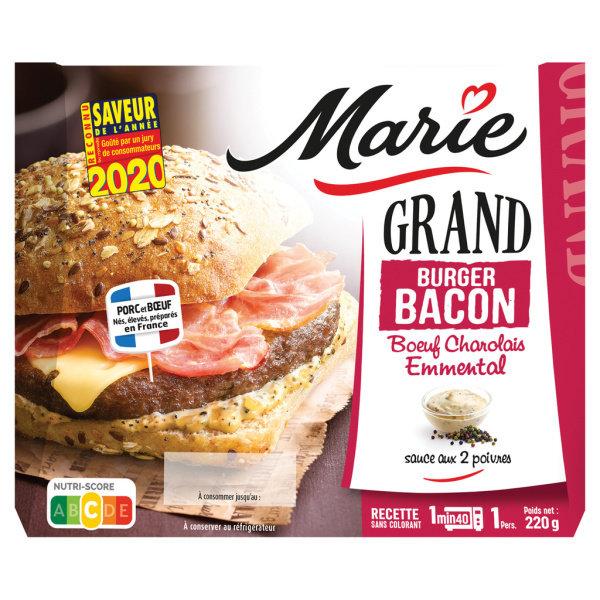 Photo Grand burger bacon Marie