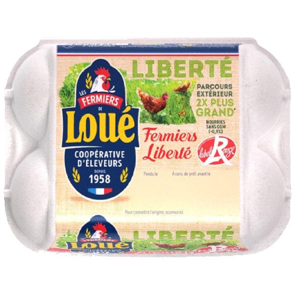 Photo Gros oeufs fermiers Fermiers de Loué