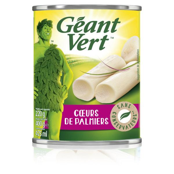 Photo Coeurs de palmiers Géant Vert
