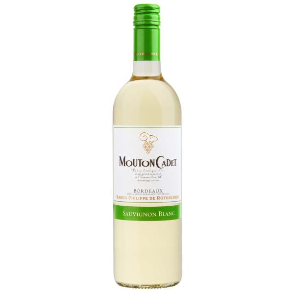 Photo Vin sauvignon blanc Mouton Cadet