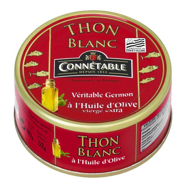 Photo Thon blanc à l'huile d'olive Connétable