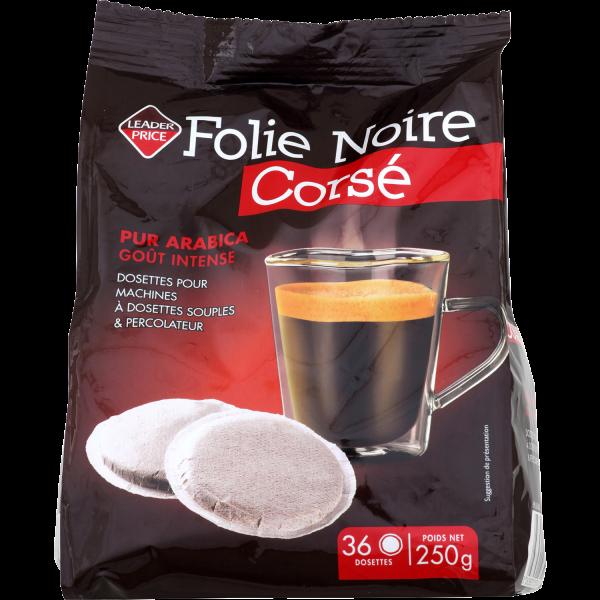 Photo Café corsé compatible senseo Leader price