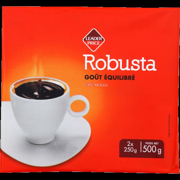 Photo Café robuste Leader price