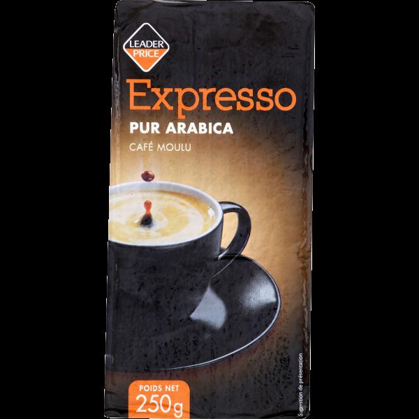 Photo Espresso pur arabica Leader price
