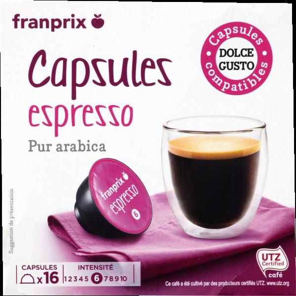 Photo Capsule café franprix