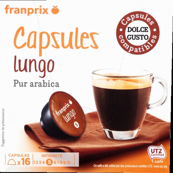 Photo Capsule café long franprix