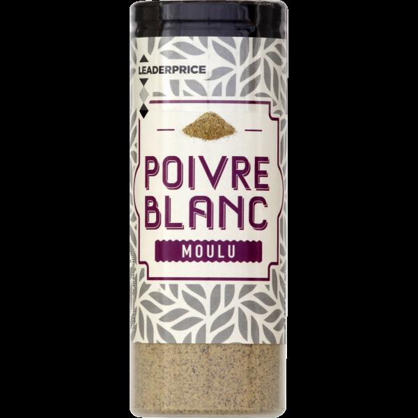 Photo Poivre blanc moulu  Leader price