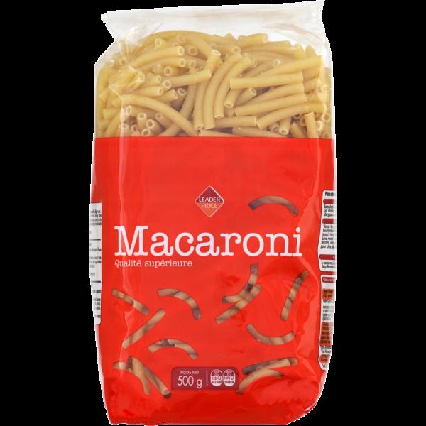 Photo Macaroni Leader price