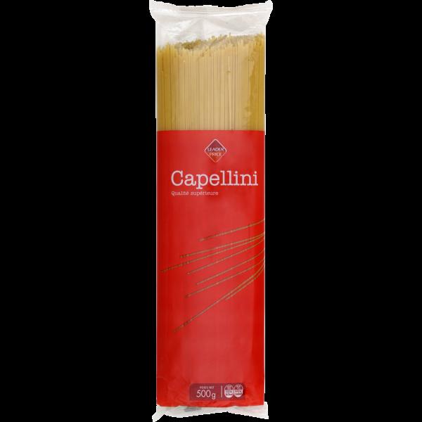 Photo Pâtes capellini Leader price