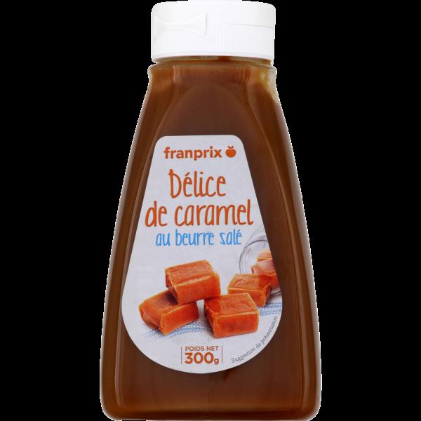 Photo Caramel beurre salé à tartiner franprix