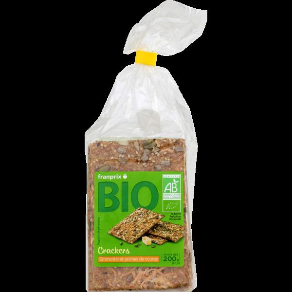 Photo Crackers emmental bio franprix