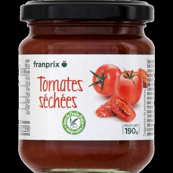 Photo Sauce aux tomates séchées franprix