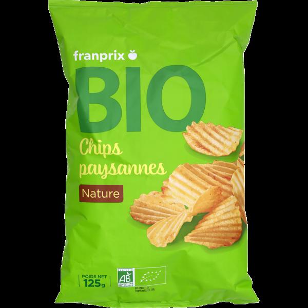 Photo Chips nature bio franprix