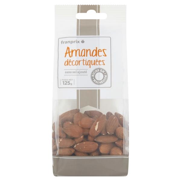 Photo Amandes décortiquées franprix