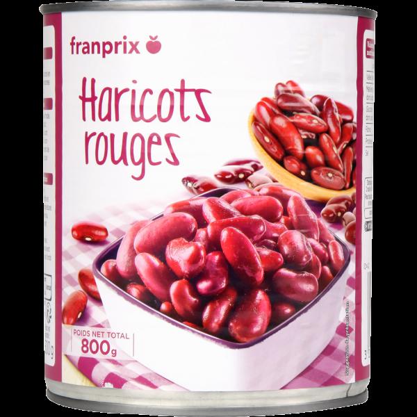 Photo Haricots rouges franprix