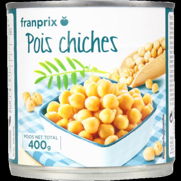 Photo Pois chiches franprix