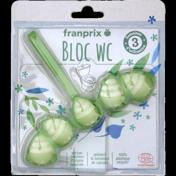 Photo Bloc WC drops Ecodétergent Ecocert franprix